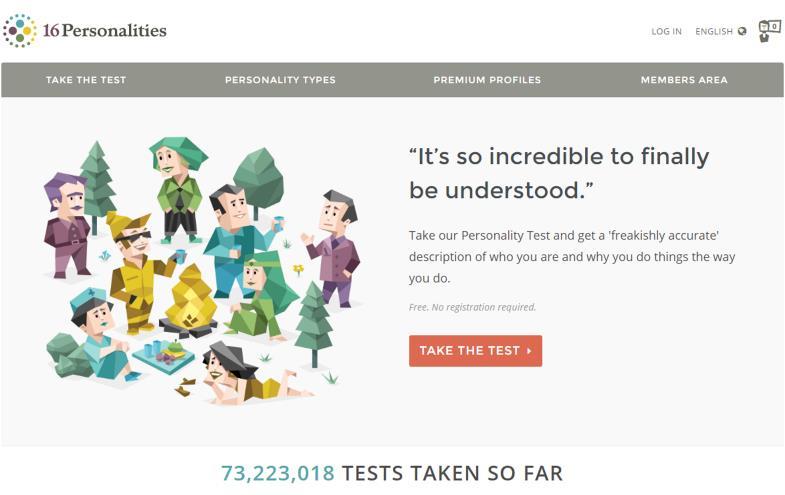 personality type quiz