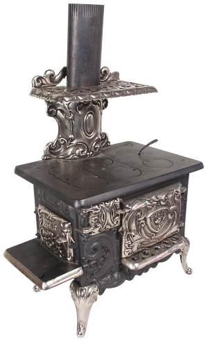 bucks stove & range sample oven circa 1900