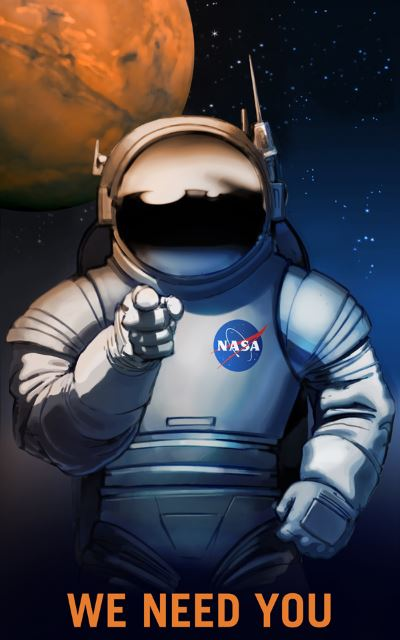 nasa astronaut recruitment poster