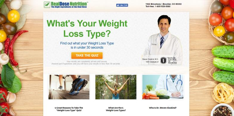 weight loss type quiz