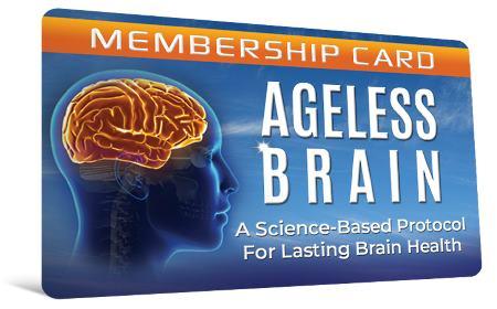 Ageless Brain membership card