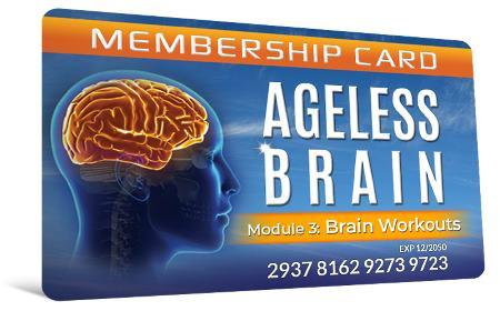Ageless Brain module 3